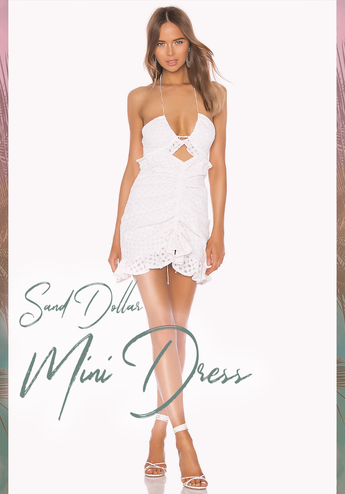 For Love and Lemons Sand Dollar Mini Dress