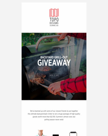Backyard Grill-Out Giveaway: Enter to win!
