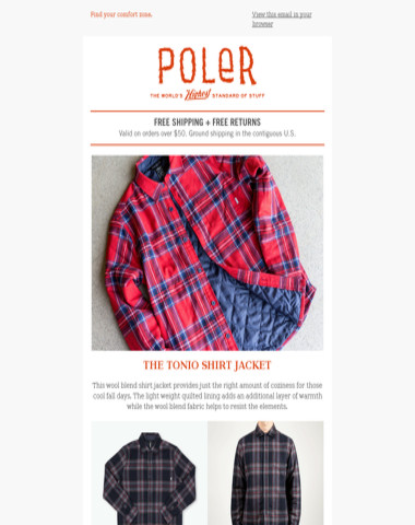Layering for Fall | The Tonio Shirt Jacket