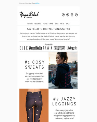 Hi ! Fall Trends we know you'll love