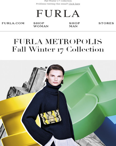 Discover our best-selling Furla Metropolis in colorblock prints