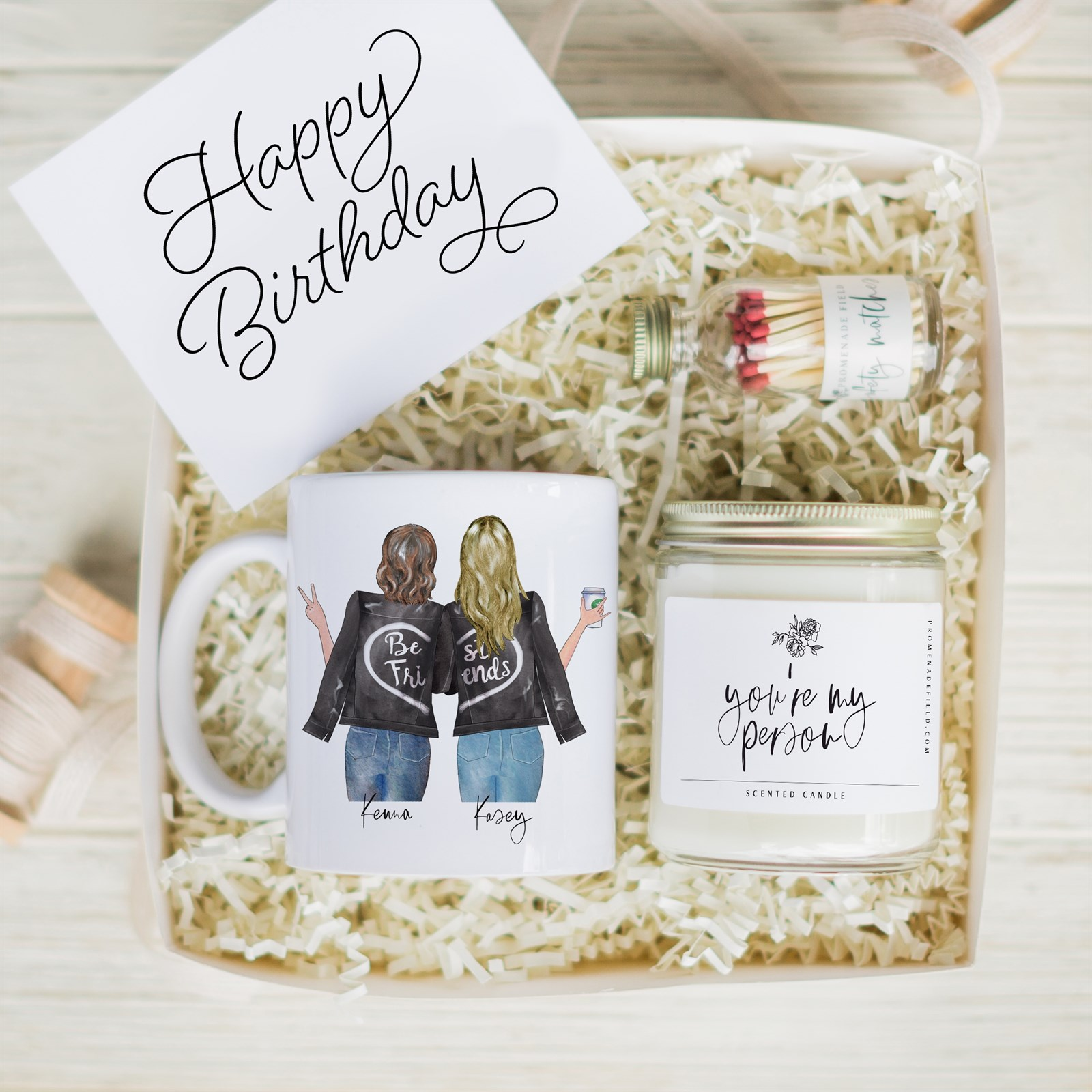 Personalized Best Friends Gift Set