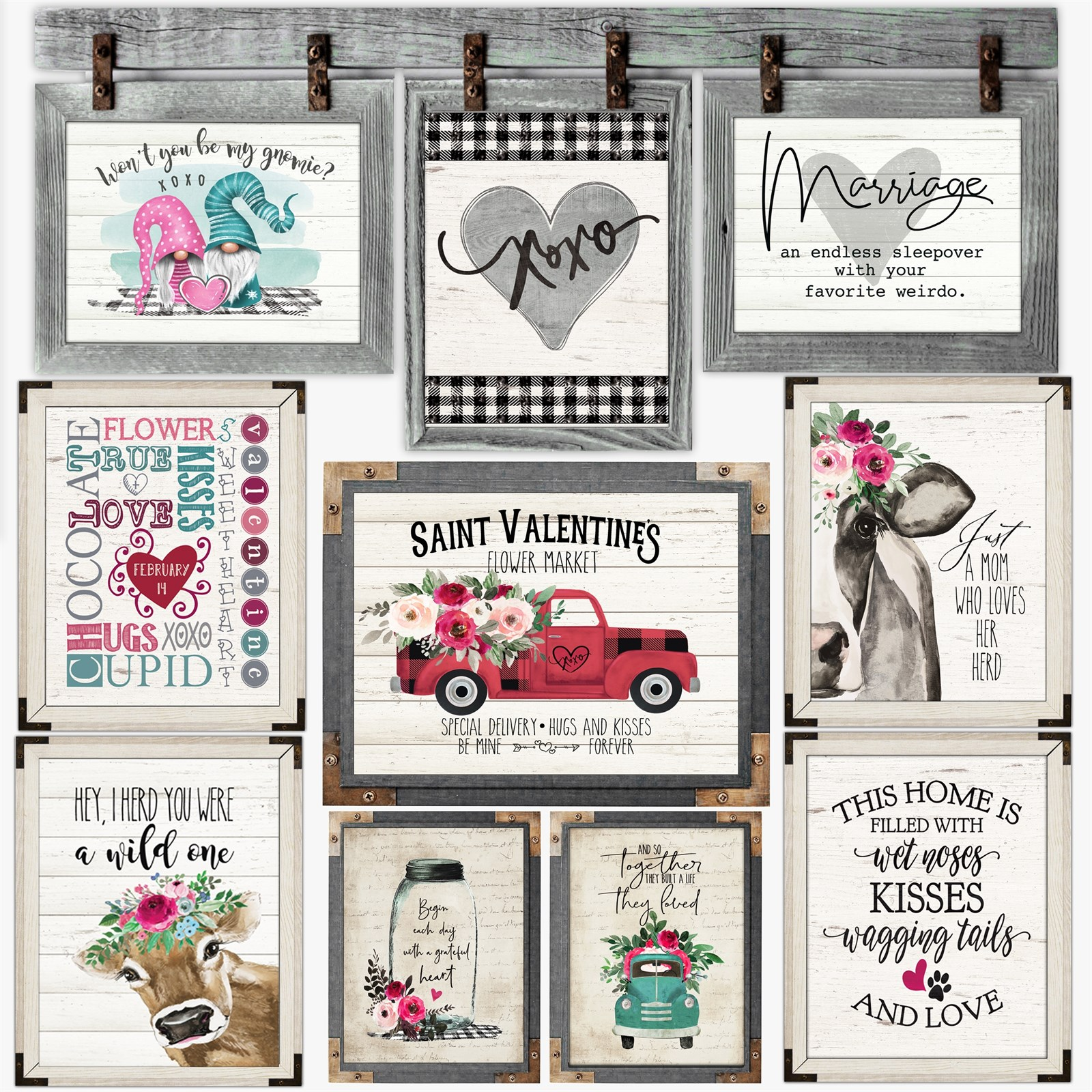 Rustic At Heart Inspos | 2 Sizes