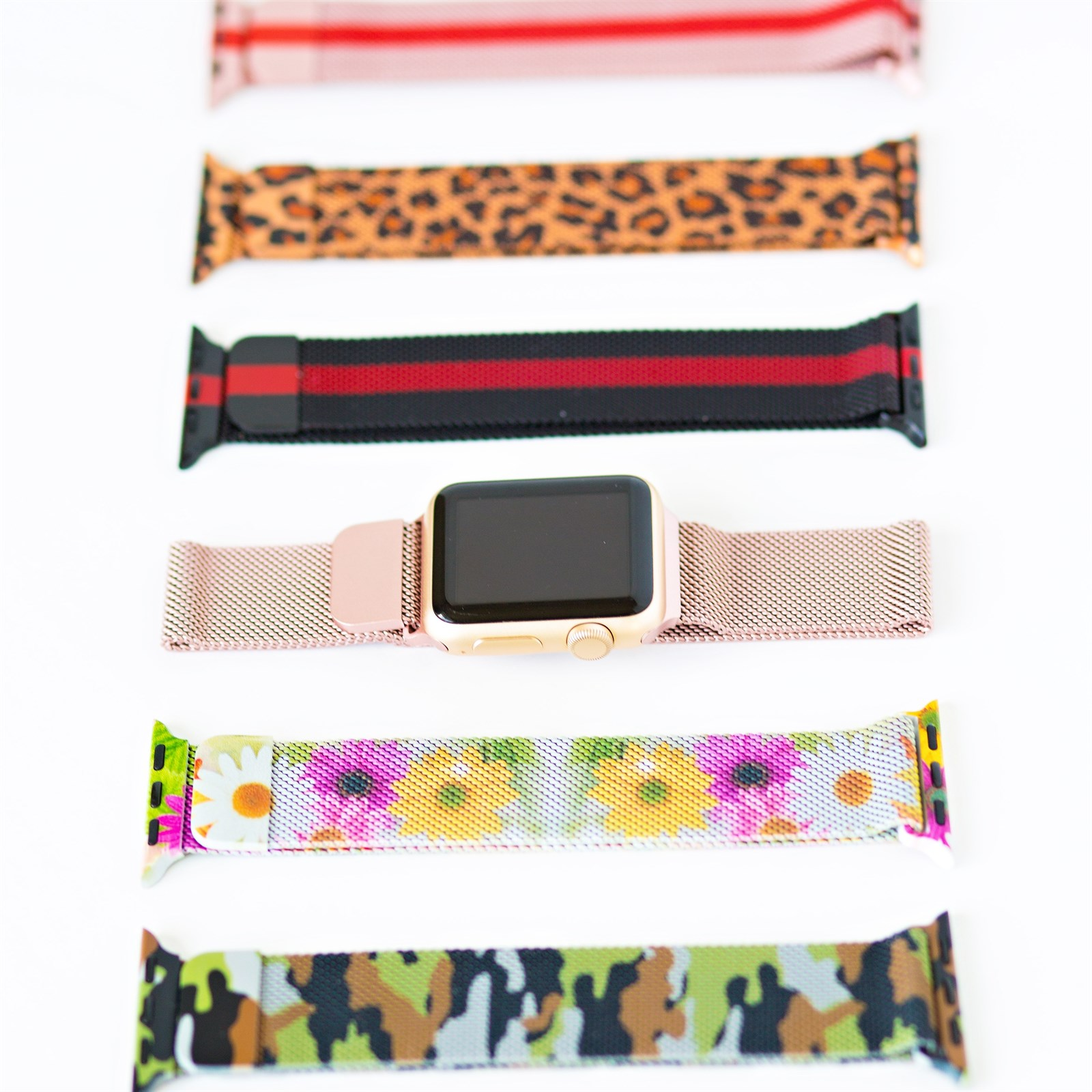 Patterned Apple Watch Band