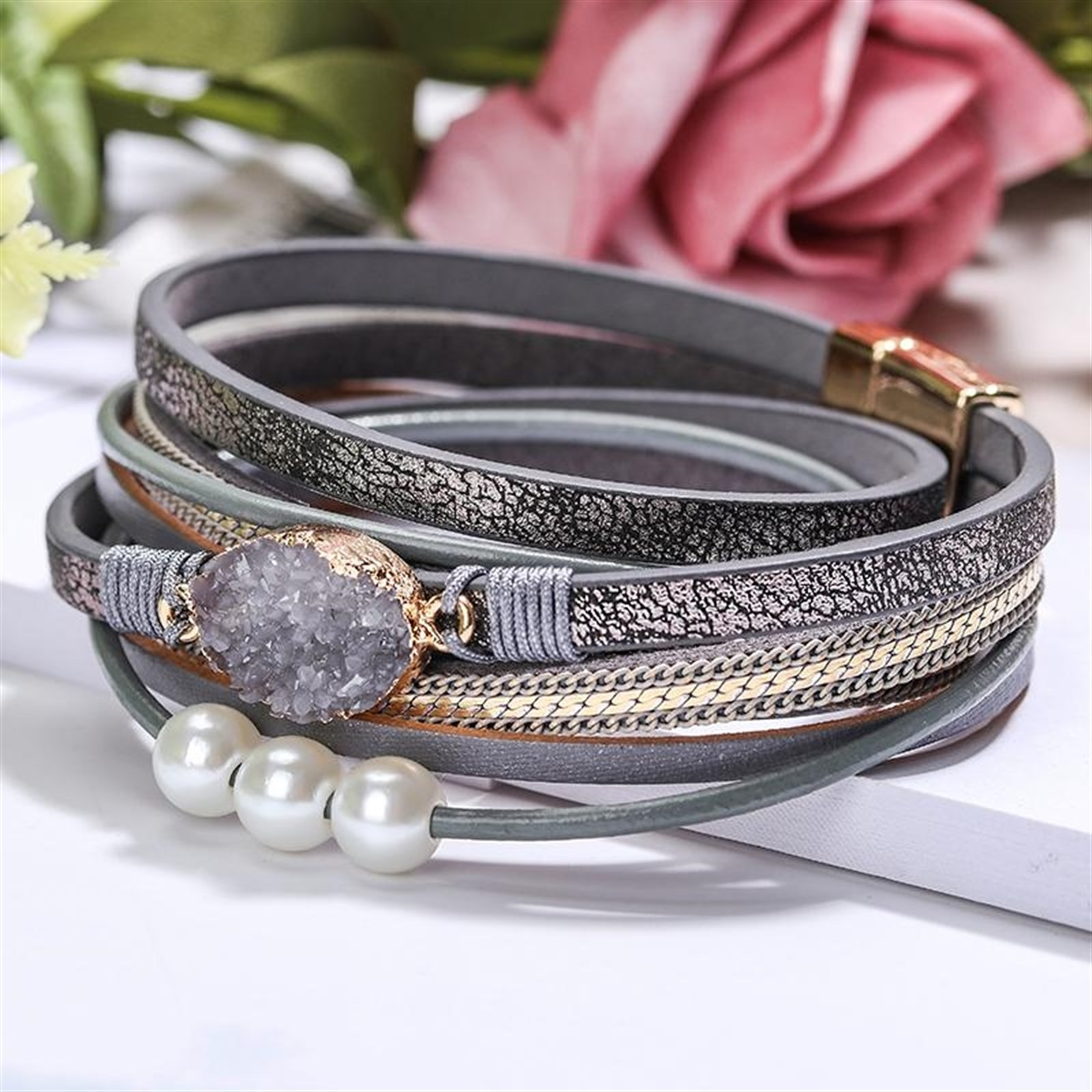 Statement Wrap Bracelets | Free Shipping