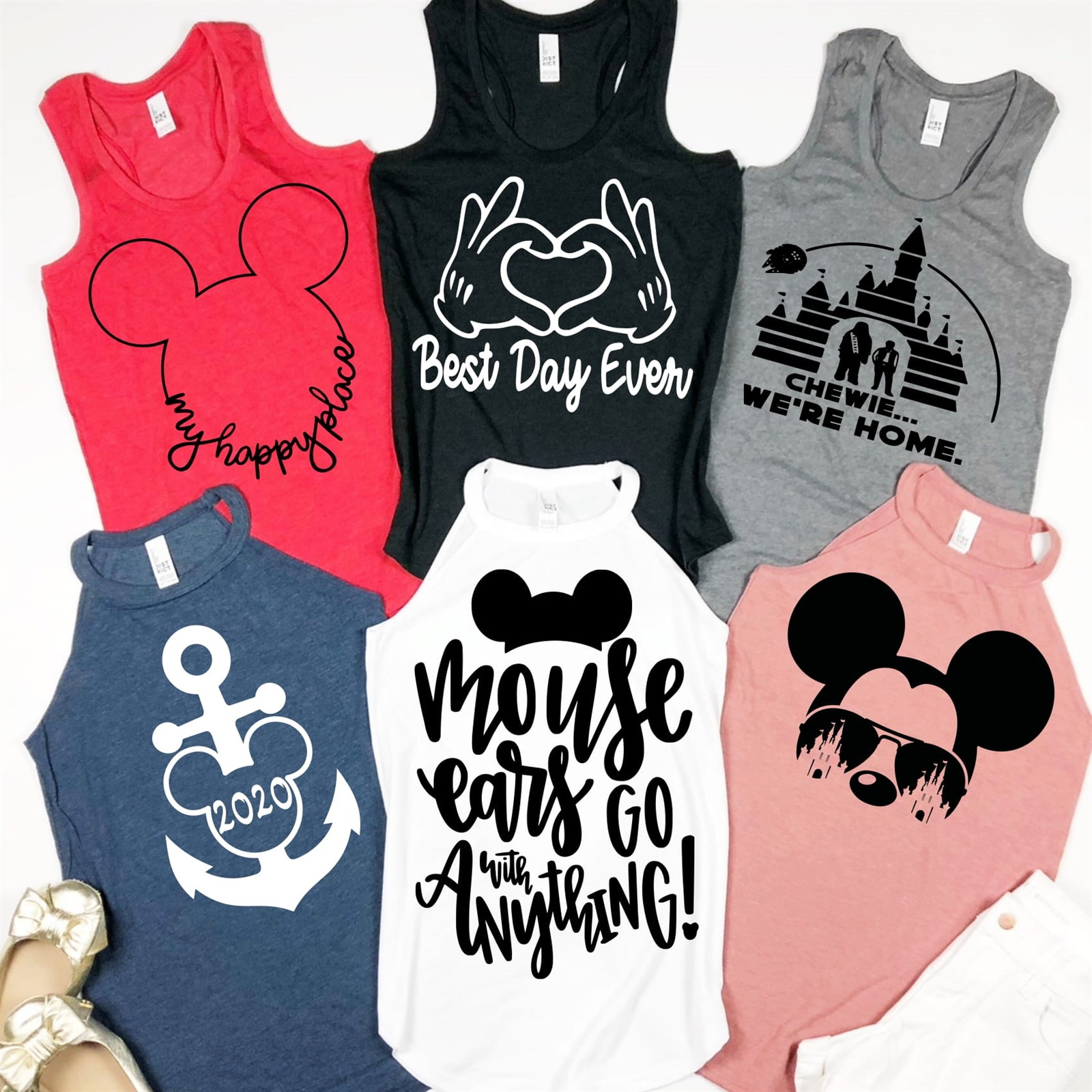 Character Best Day Tanks