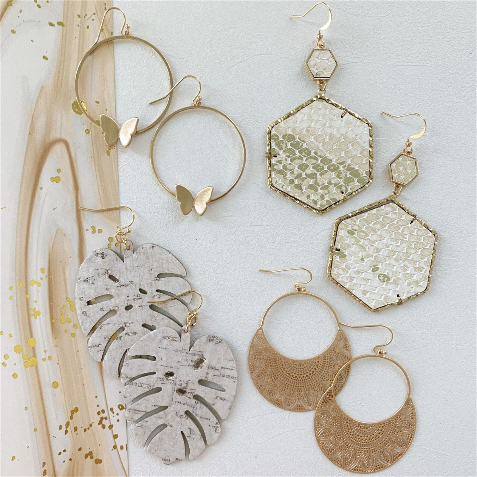 Neutral Earrings Collection