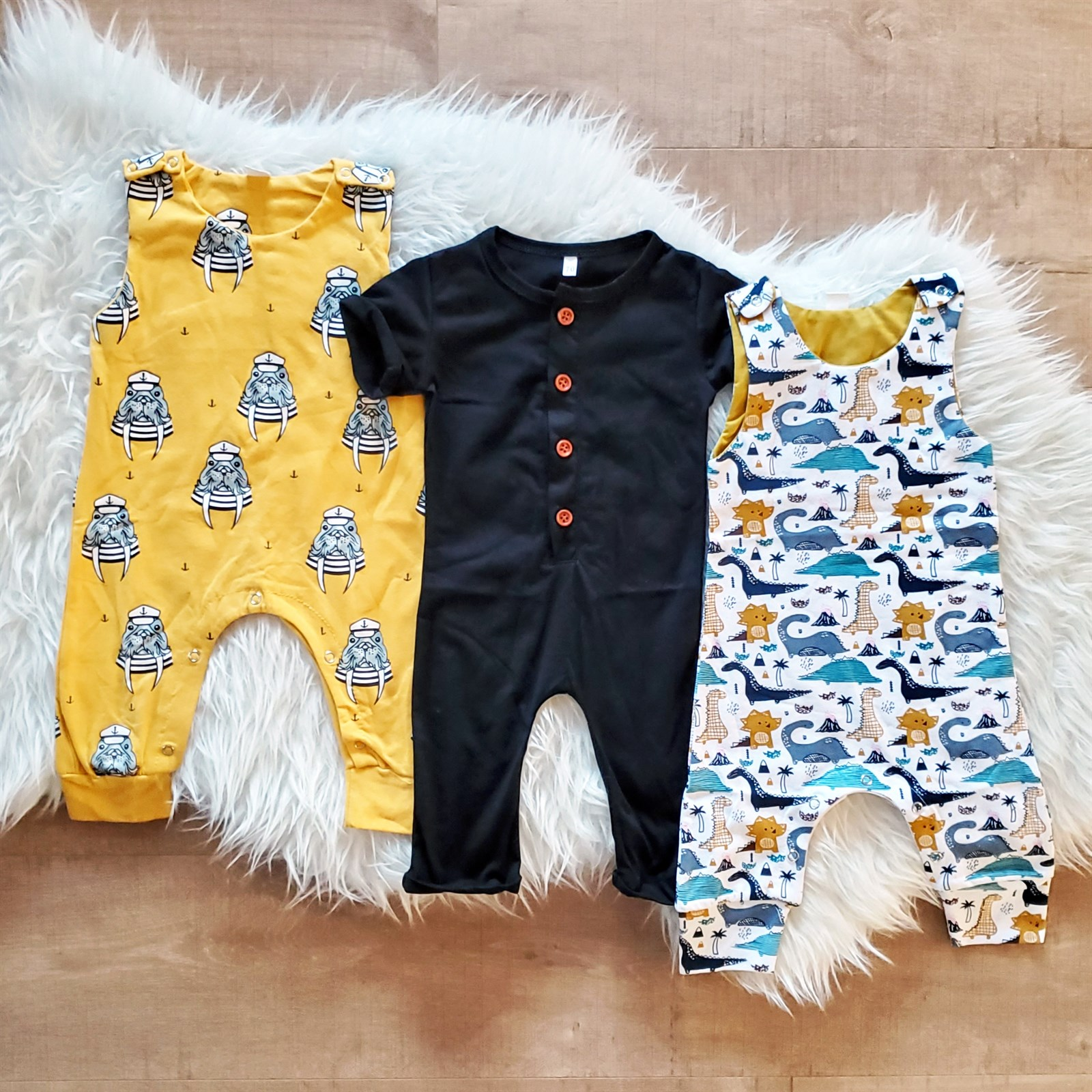 Baby Boy Rompers
