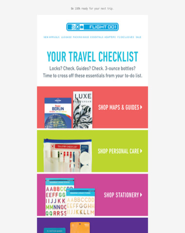 Don't forget these travel basics