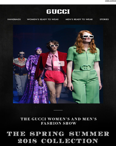 See all the Looks: the Gucci Spring Summer 2018Fashion Show