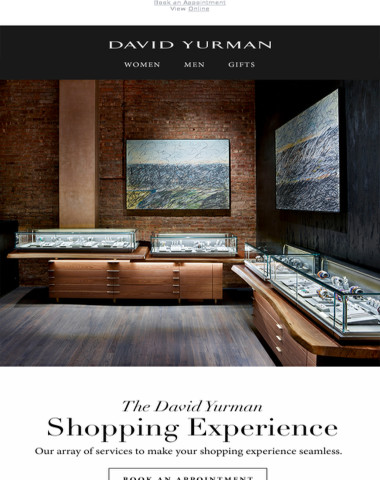 At Your Service: The David Yurman Shopping Experience