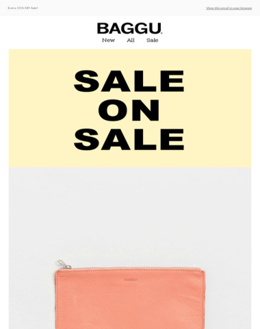 Extra 15% Off Sale!