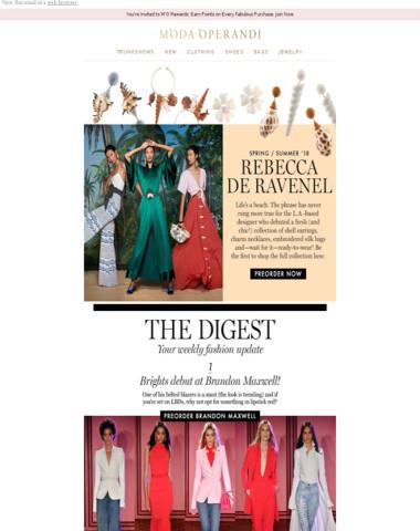 Rebecca de Ravenel's reinvention + The Weekly Digest