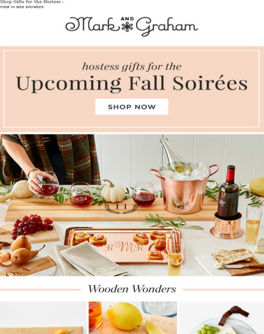 Autumn Affair: Gifts for the Fall Hostess!