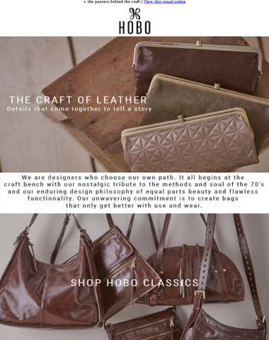 For the love of leather…