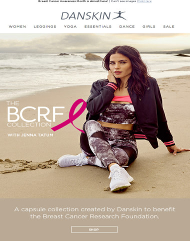 Introducing the BCRF x Danskin Collection