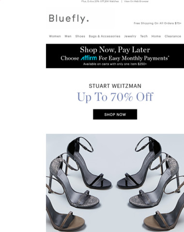 Seize The Moment: STUART WEITZMAN Up To 70% Off