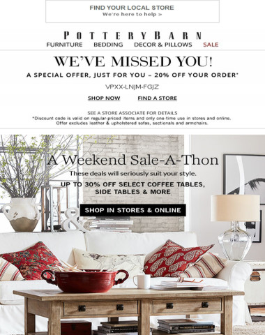 WEEKEND SALE-A-THON!