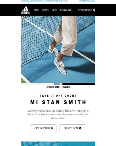 Take the Stan Smith off court and make it yours.