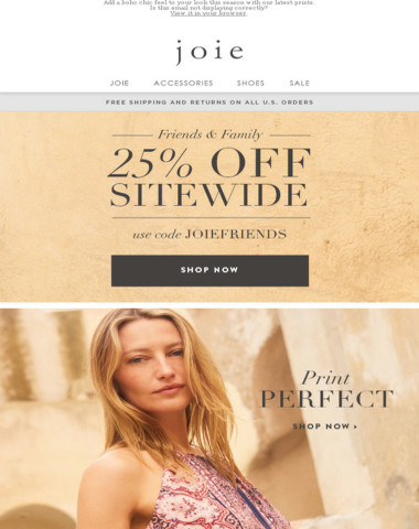 Print Perfect | 25% off Sitewide + Free Shipping