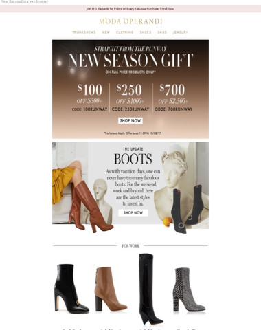 Your new season gift + boots made for walking (& work + cocktails)