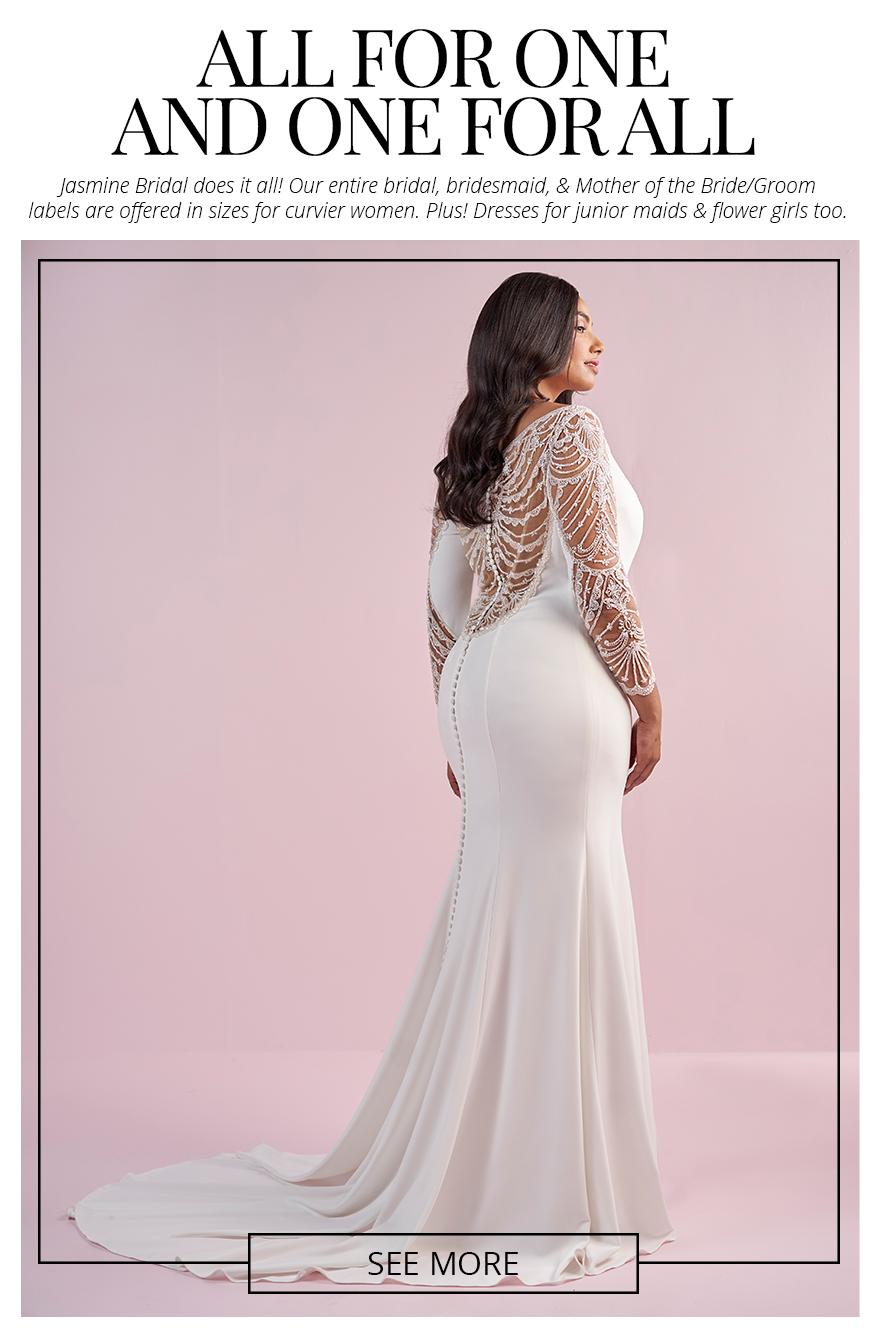 Jasmine Bridal - Plus Size Bridal, Junior Bridesmaids, and More!