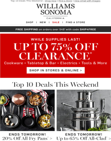 Top Weekend Deals You Don't Want to Miss!