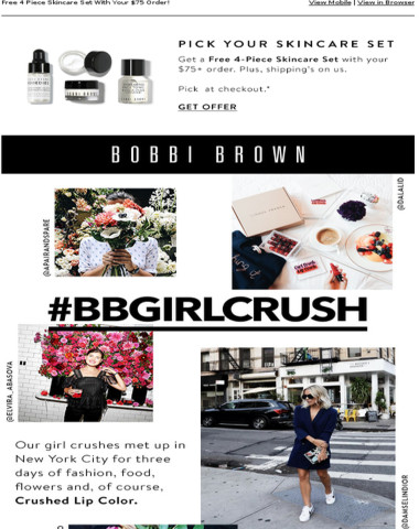#BBGirlCrush: Fun With Food, Fashion and Crushed Lip Color