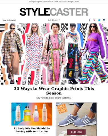 How to Wear Graphic Prints This Fall