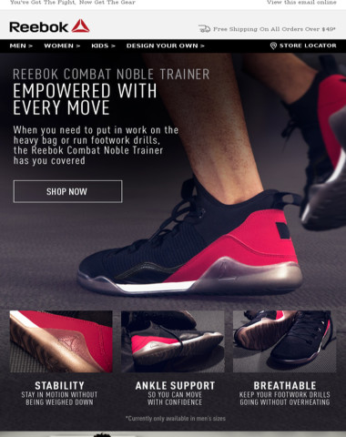Reebok - The Perfect Shoe When You re Training Like A Fighter 5153be3ef