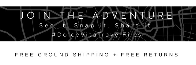Join the adventure: see it. snap it. share it. #dolcevitatravelfiles