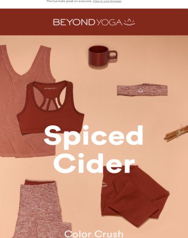 Color Crush: Spiced Cider