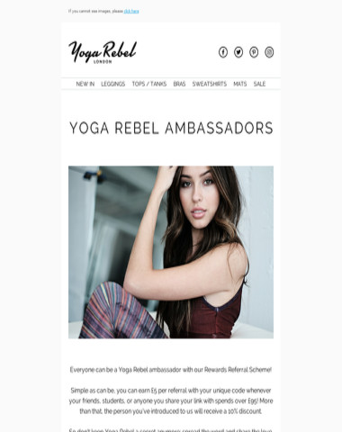 Hey , do you want to be a Yoga Rebel Ambassador?