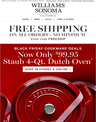 The BEST of Black Friday Cookware Deals!