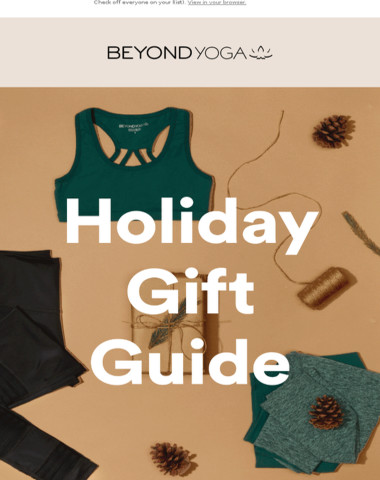 Unwrap Our Gift Guide
